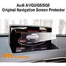 LFOTPP Audi A1 Q3 Q5 SQ5 7 pulgadas Navegación Protector de pantalla - 9H Cristal Vidrio