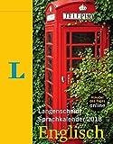 Langenscheidt Sprachkalender 2018 Englisch - Abreißkalender -