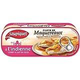 Saupiquet filets de maquereaux à l'indienne curry & lait de coco 169 g (Prix Par Unité) Envoi Rapide Et Soignée