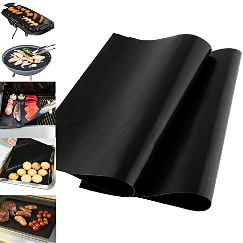 finlon-barbecue-tappetino-resistente-al-calore-antiaderente-bbq-grill-mats-nero-confezione-da-2-tapp