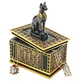 Design Toscano Royal Bastet Egyptian Box