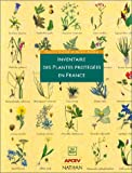Image de Inventaire des plantes protegées en france