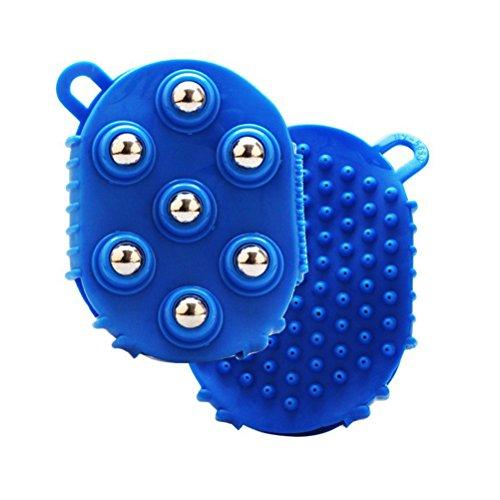 Guante ultnice Masaje Masajeador bolas cuerpo Azul