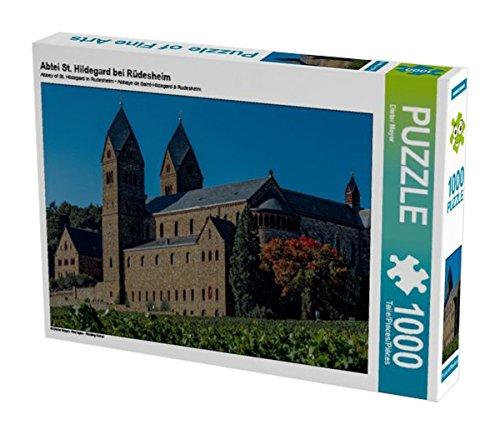Preisvergleich Produktbild Abtei St. Hildegard bei Rüdesheim 1000 Teile Puzzle quer: Rheingau - Riesling Kultur (CALVENDO Orte)