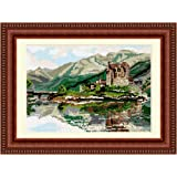 Brigantia Needlework Eileen Donan Castle Tapestry Picture Kit in Tent Stitch