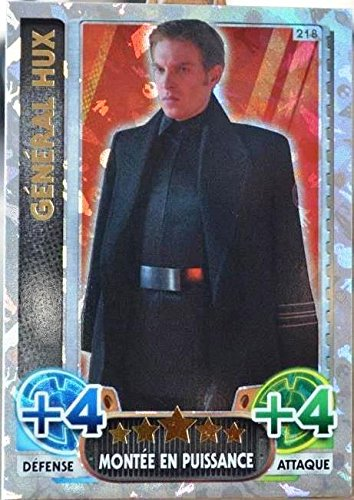 carte TOPPS STAR WARS 218/224 Général Hux Holographique SW Force Attax NEUF FR