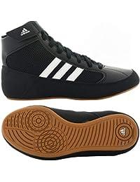 check out ccb75 aa02d Adidas Hvc cordones zapatos de lucha - 14 - azul   rojo   blanco
