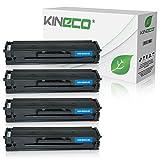 4 Kineco XXL Toner (150% mehr Inhalt!) kompatibel zu Samsung MLT-D111S für Samsung M2026W, M2022W, M2022, M2070W, M2070FW, M2020, M2000 - MLTD111S/ELS . Schwarz je 2.500 Seiten