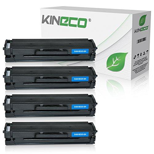 Preisvergleich Produktbild 4 Kineco XXL Toner (150% mehr Inhalt!) kompatibel zu Samsung MLT-D111S für Samsung M2026W, M2022W, M2022, M2070W, M2070FW, M2020, M2000 - MLTD111S/ELS . Schwarz je 2.500 Seiten