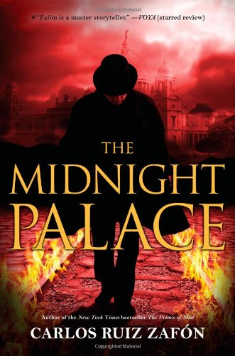 Book cover for The Midnight Palace