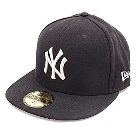 New York Yankees New Era 59Fifty Team Side Patch Fitted Cap Navy 6 7/8