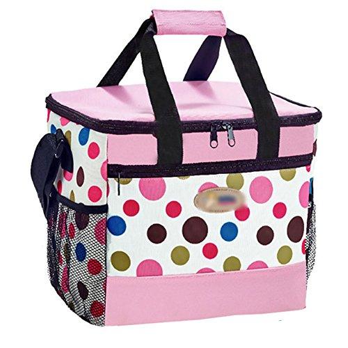 PANDA SUPERSTORE Picknick-Tasche im Freien großer weicher kühler Isolierpicknick-Mittagessen-Tasche für den Lebensmittelgeschäft, kampierend, Auto, - Iglu Mittagessen Kühler Tasche