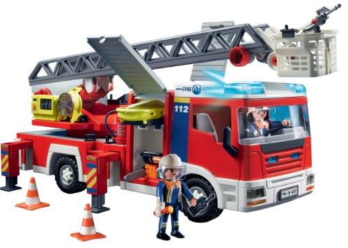 Playmobil 4820 camion dei pompieri con scala - Playmobil camion ...
