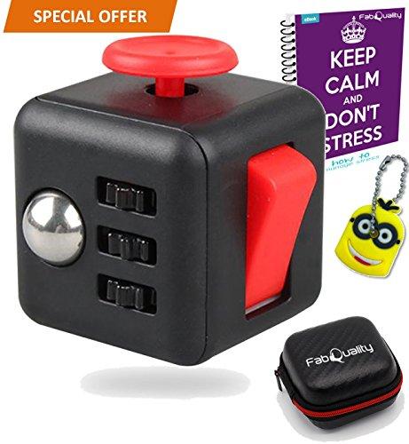 Fidget Cube original | con estuche para guardarlo | manual | OFERTA EXCLUSIVA comprarTec