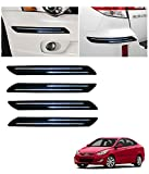 #5: Autowheel Car Bumper Protector with Double Chrome Strip- Hyundai Accent