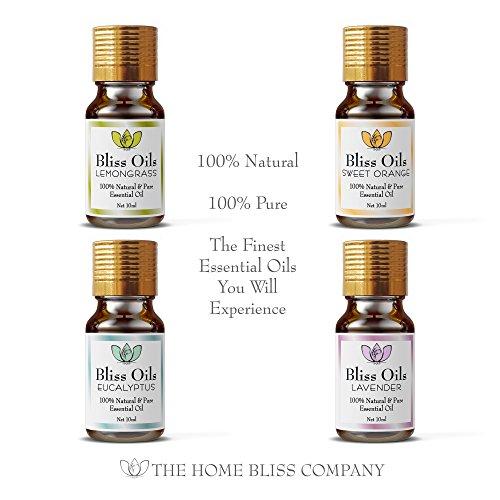 Bliss Öle Aromatherapie, ätherische Öle 100 % naturrein - 2