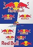Red Bull 45x30 cm adesivi Moto premio Deco Grandi