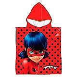 Poncho toalla Prodigiosa Ladybug