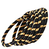 Gold and Black Combination Silk Thread B...