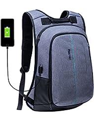 Tagesrucksack FREETOO Campus Laptop Rucksack gepolsterter Daypack für Herren Studenten und Jungen auf Campus Schule Berufsverkehr und Reise anwenden