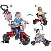 FEBER EVO Trike Plus 3 en 1 Triciclo (Famosa 800010946)