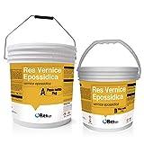 Résine pour sols Res peinture époxy, peinture à base de résine époxy pour Pavage industriels Garage, à appliquer à rouleau, en toutes les teintes rAL et NCS–- Regarde–- Res pastacolor