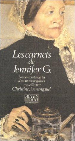 Les carnets de Jennifer G. par Christine Armengaud