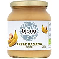 Biona Apple orgánico plátano Puré 360g