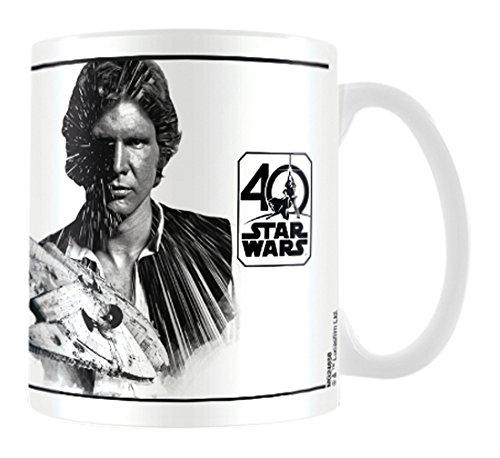 Pyramid International - Taza De Star Wars 40 Aniversario - Modelo Han Solo