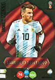 Adrenalyn XL FIFA World Cup 2018Russia–Lionel Messi Limited Edition Trading Card–Argentina