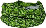 GREEN FUNKY OWL SCARF- RUFFNEK® Multifunctional Neck warmer/Sweat Head Scarf - Unisex - ONE SIZE