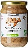 AMANDAIE Purée d'Amande Complète Bio 300g - Lot de 2 (soit 600g)