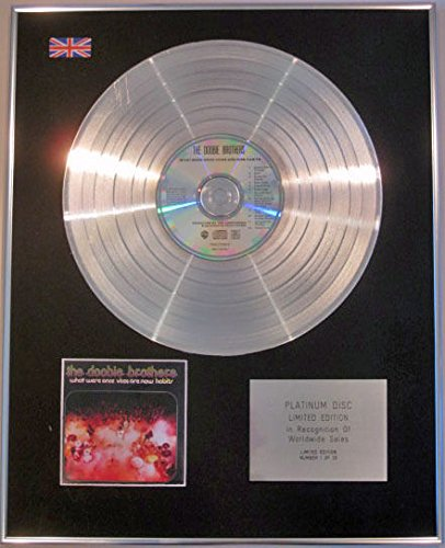 Century Music Awards Doobie Brothers CD Platinum Disc - What were Once Vices