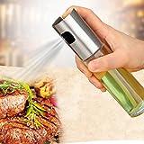 STRIR 100ml Dispensador de aceite de aceite de oliva Dispensador de aceite Dispensador de aceite Botella de spray de vinagre para barbacoa, cocinar y hacer aderezo de ensalada Herramientas de cocina