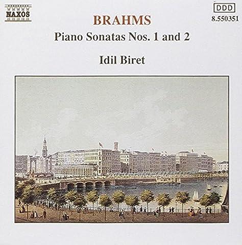 Brahms Klaviersonate 1 und 2 Biret