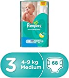 Pampers Active Baby Dry Diapers, M 68 Pieces