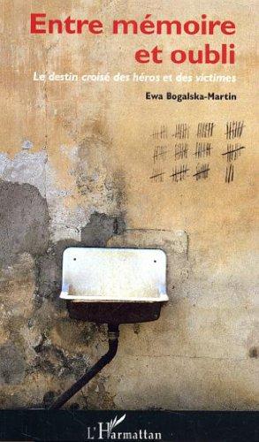 Entre mémoire et oubli : Le destin croisé des héros et des victimes par Ewa Bogalska-Martin