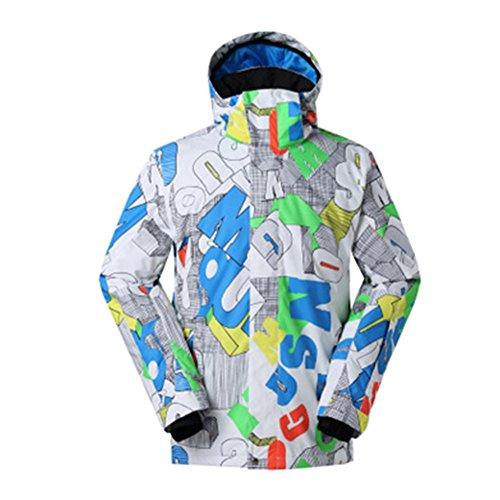 Haodasi Männer Winter Outdoor Hoodies Skianzug Wasserdichte Snowboard Jacken Reise Camping Mantel Coats