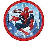 empireposter Wanduhr - Spiderman - Größe Ø24 - Kinderuhr -