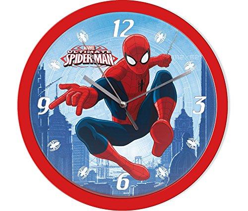 empireposter Wanduhr - Spiderman - Größe Ø24 - Kinderuhr - Marvel Spider-Man