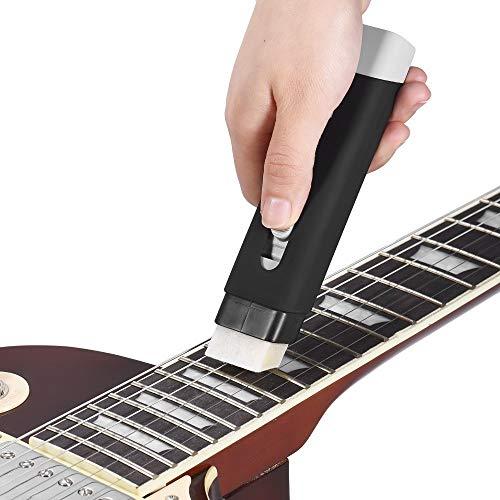 Neu Gitarrensaiten Reinigungswerkzeug Entstaubung Schmierfilz String Maintenance Kit Luthier Werkzeug Für Akustische Elektrische Gitarre Bass Violine Cello - Rost Pad Kit