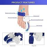 Bunion Corrector,eBuy 5 pcs Hallux Valgus big toe straightener toe protectors Bunion Splint Bunion Relief Sleeves Kit - Bunion Pads Foot Pain Care - Gel Toe Separators