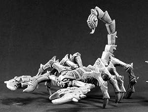 Reaper Miniatures 2182 - Leyendas Oscuras: Giant Scorpion (sin Pintar) Importado de Alemania