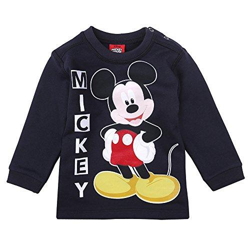 Disney Niños Mickey Mouse Sudadera, Azul Oscuro