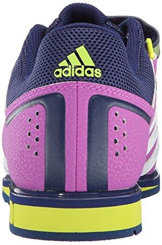 Adidas Performance Powerlift.2 W Haltérophilie formateur chaussures, rose / blanc / semi-jaune sola Multicolore