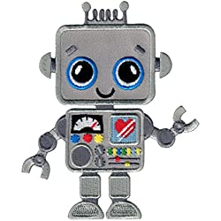 PatchMommy Toppa Robot Toppa Patch Termoadesiva -Toppe Bambini