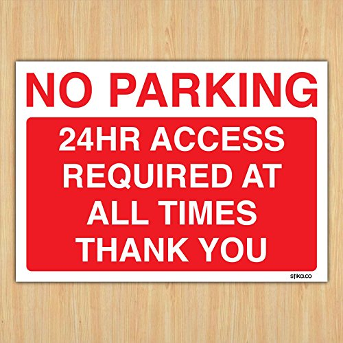 24hr-access-required-no-parking-sign-new-a4-printed-by-fsss-ltd