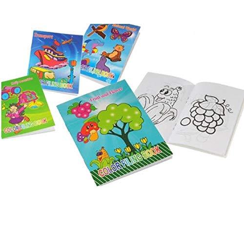 Takestop® album quaderno blocco carta disegni da colorare coloring book a4 album foglio disegno per bambini scuola disegni casuali
