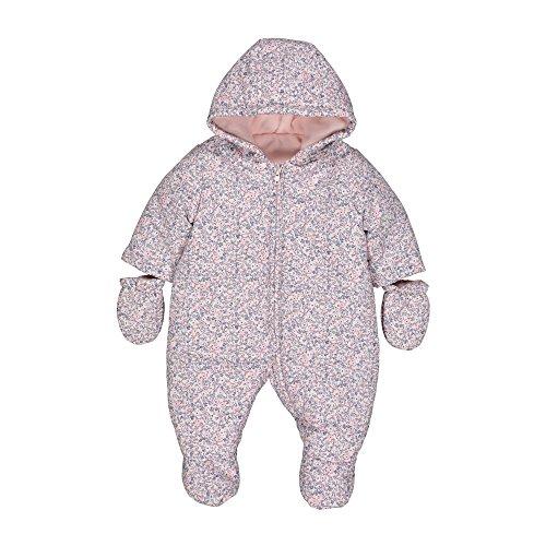 Mothercare Baby-Mädchen Schneeanzug Girls Snowsuit Fleece, Blau, 56