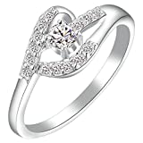 Aienid Friend Infinity Rings White Golds - Best Reviews Guide